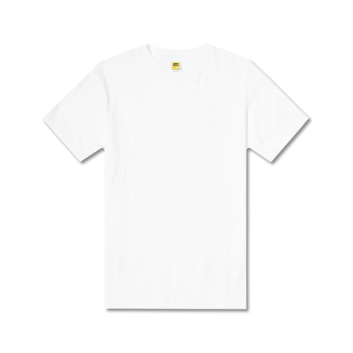 [VELVA SHEEN] ROLLED SS REGULAR TEE 'WHITE'