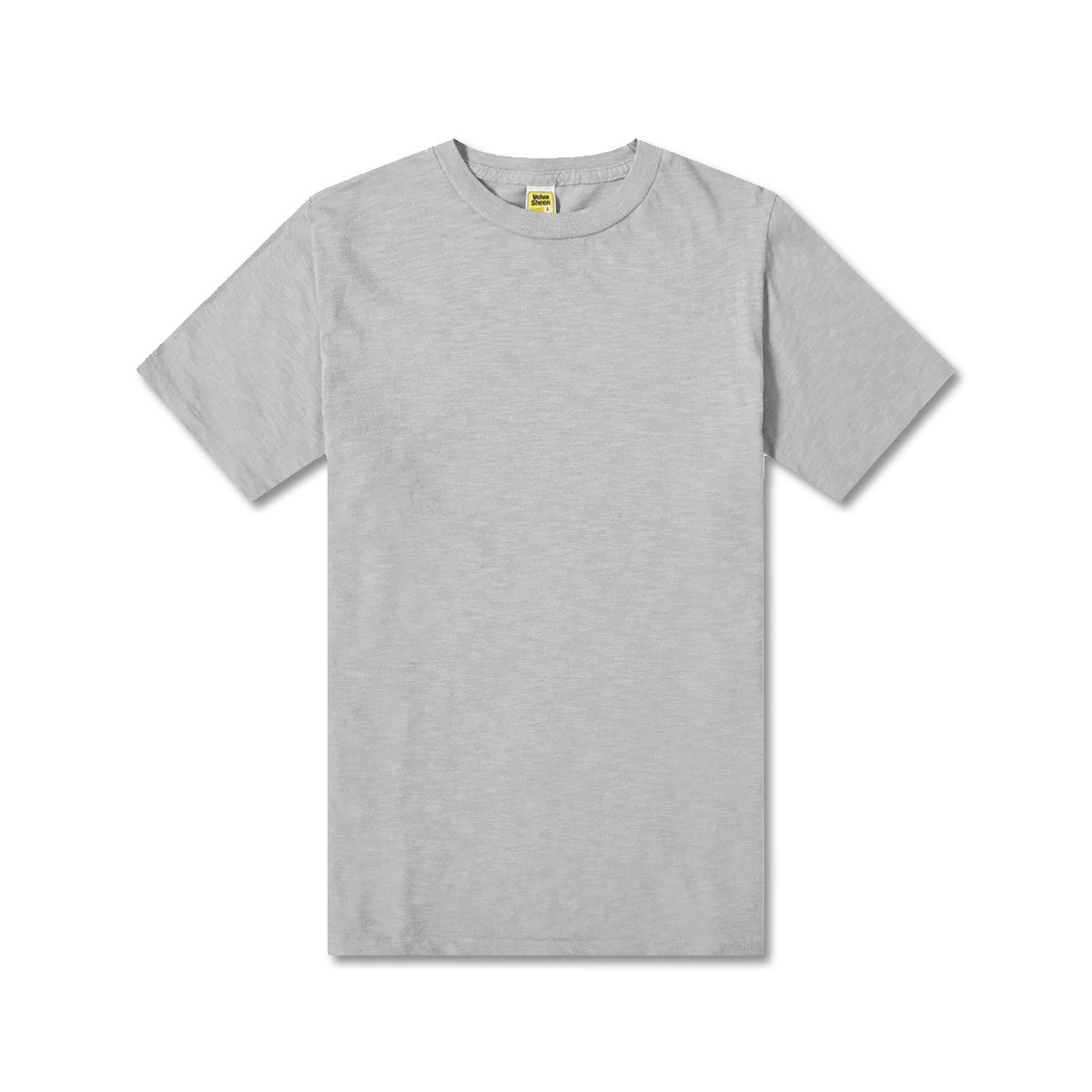 [VELVA SHEEN] ROLLED SS REGULAR TEE 'GREY'