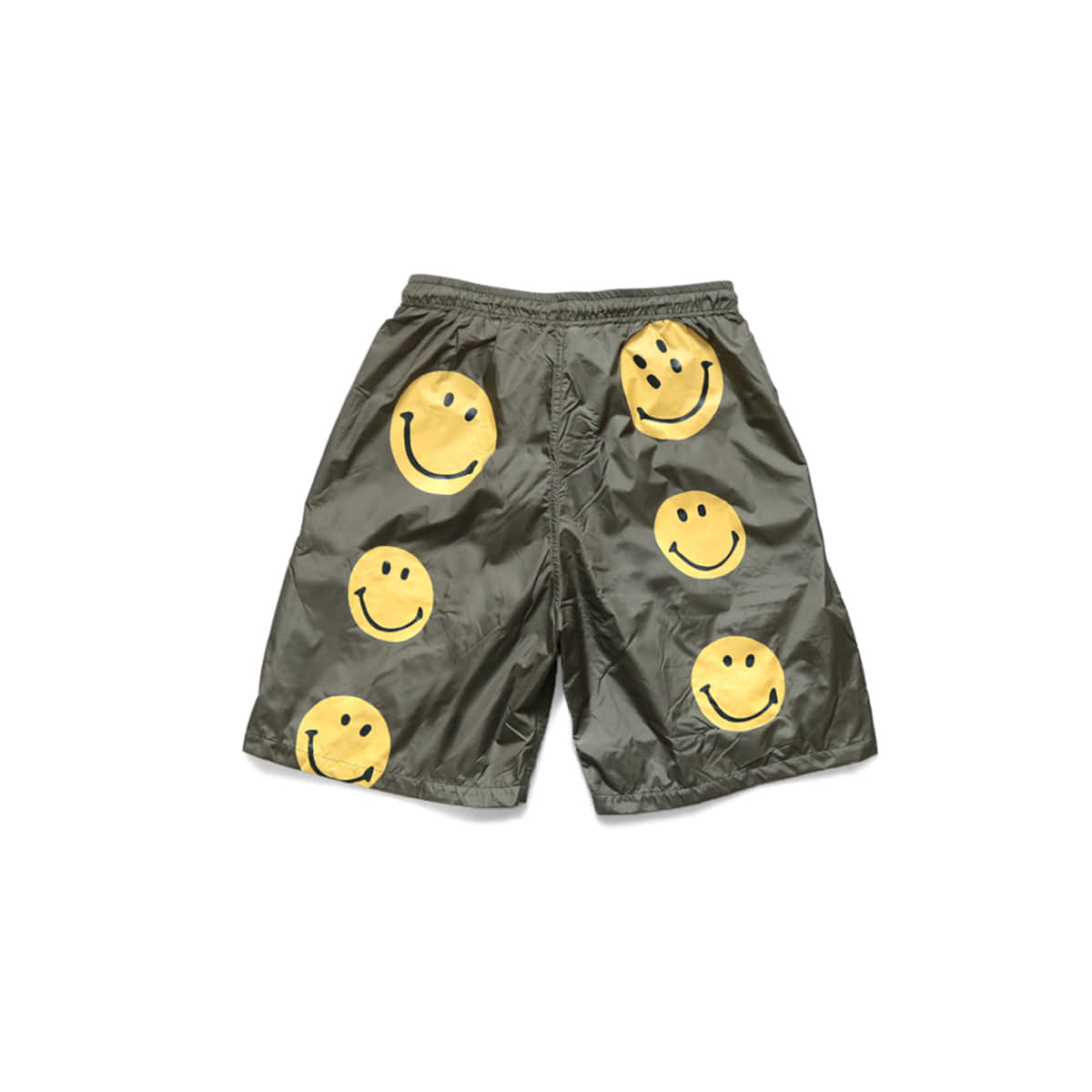 [KAPITAL] NYLON SWIM TRUNKS(RAIN SMILE) 'KHA'
