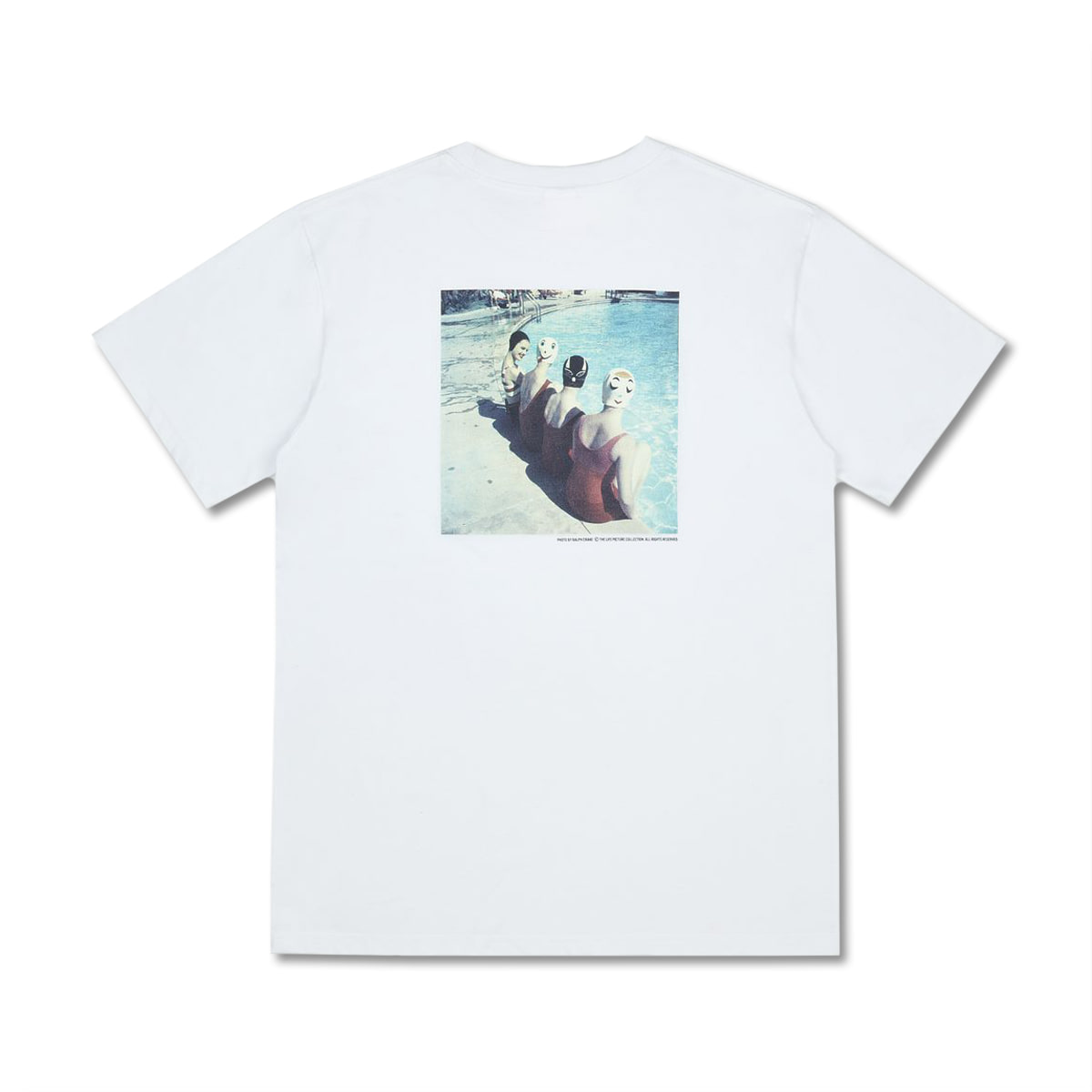 [LIFE ACHIVE] SUMMER LIFE POOLSIDE T-SHIRT 'WHITE'