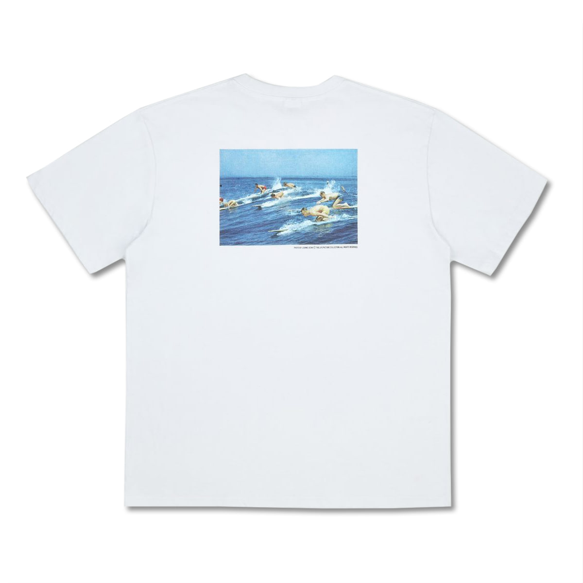 [LIFE ACHIVE] SUMMER LIFE SURFERS T-SHIRT 'WHITE'