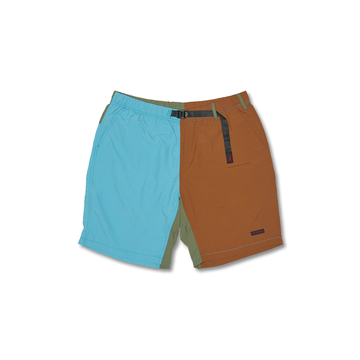 [GRAMICCI] SHELL PACKABLE SHORTS 'AQUA X MOCHA'
