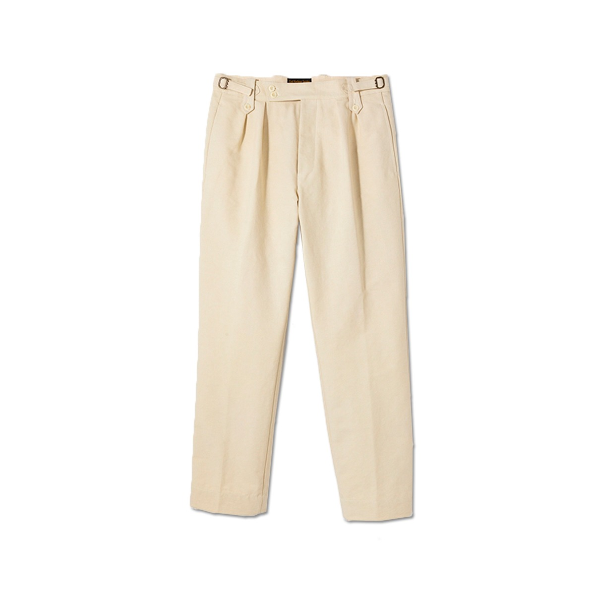 [EAST HARBOUR SURPLUS] GURKA 2 PENCE PANTS 'OFF WHITE'