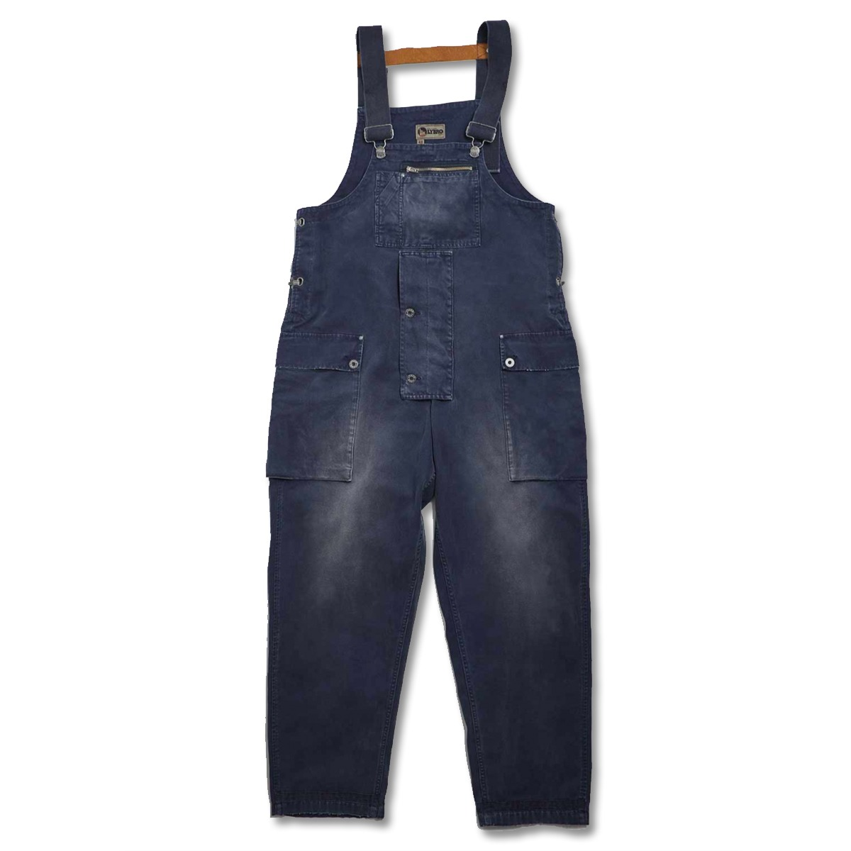 [NIGEL CABOURN] NAVAL DUNGAREE CANVAS 'NAVY'