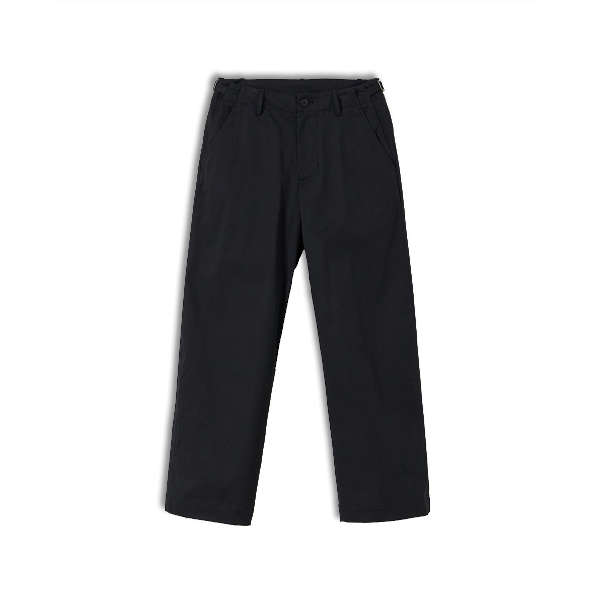 [YOUTH] WIDE CHINO PANTS 'BLACK'