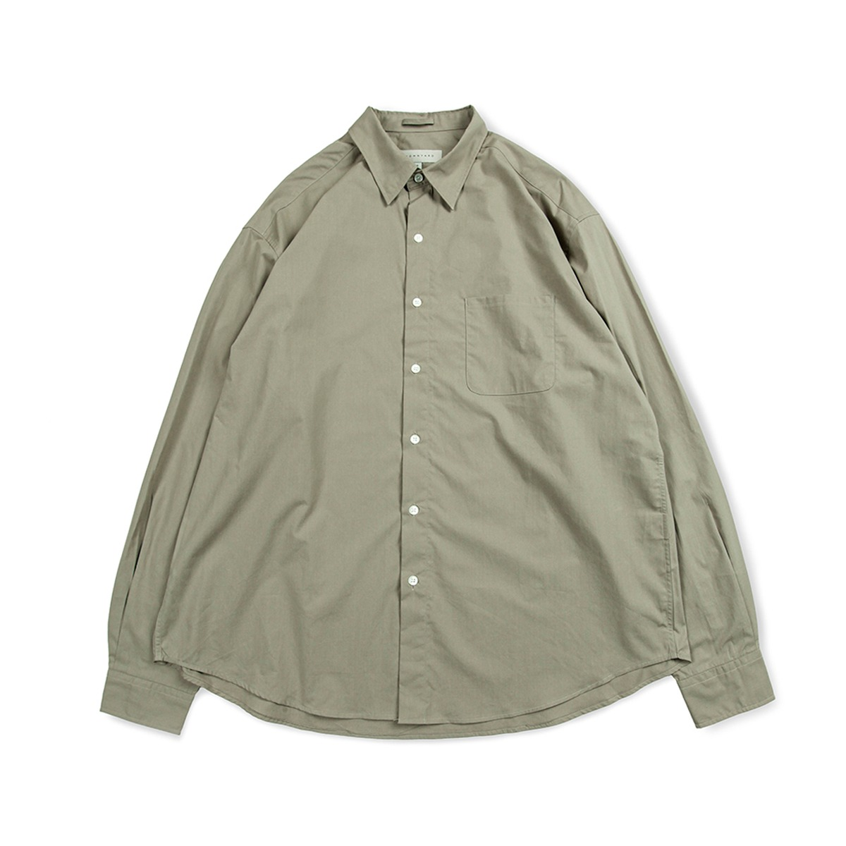 [BROWNYARD] STEADY SHIRTS 'OLIVE GREY'