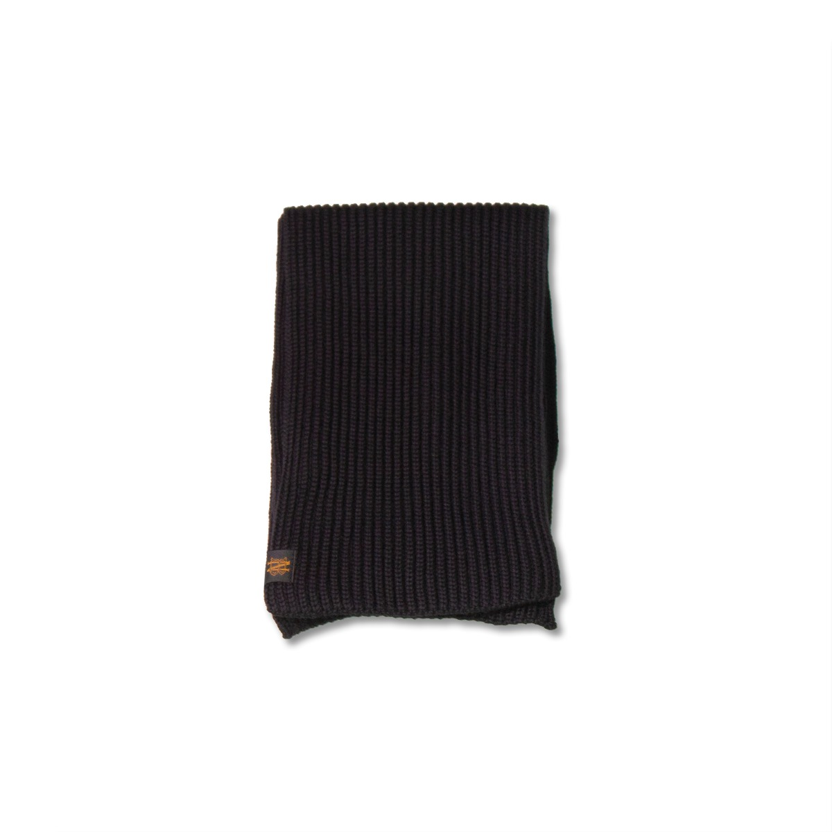 [BATONER] SIGNATURE WOOL MUFFLER 'BLACK'