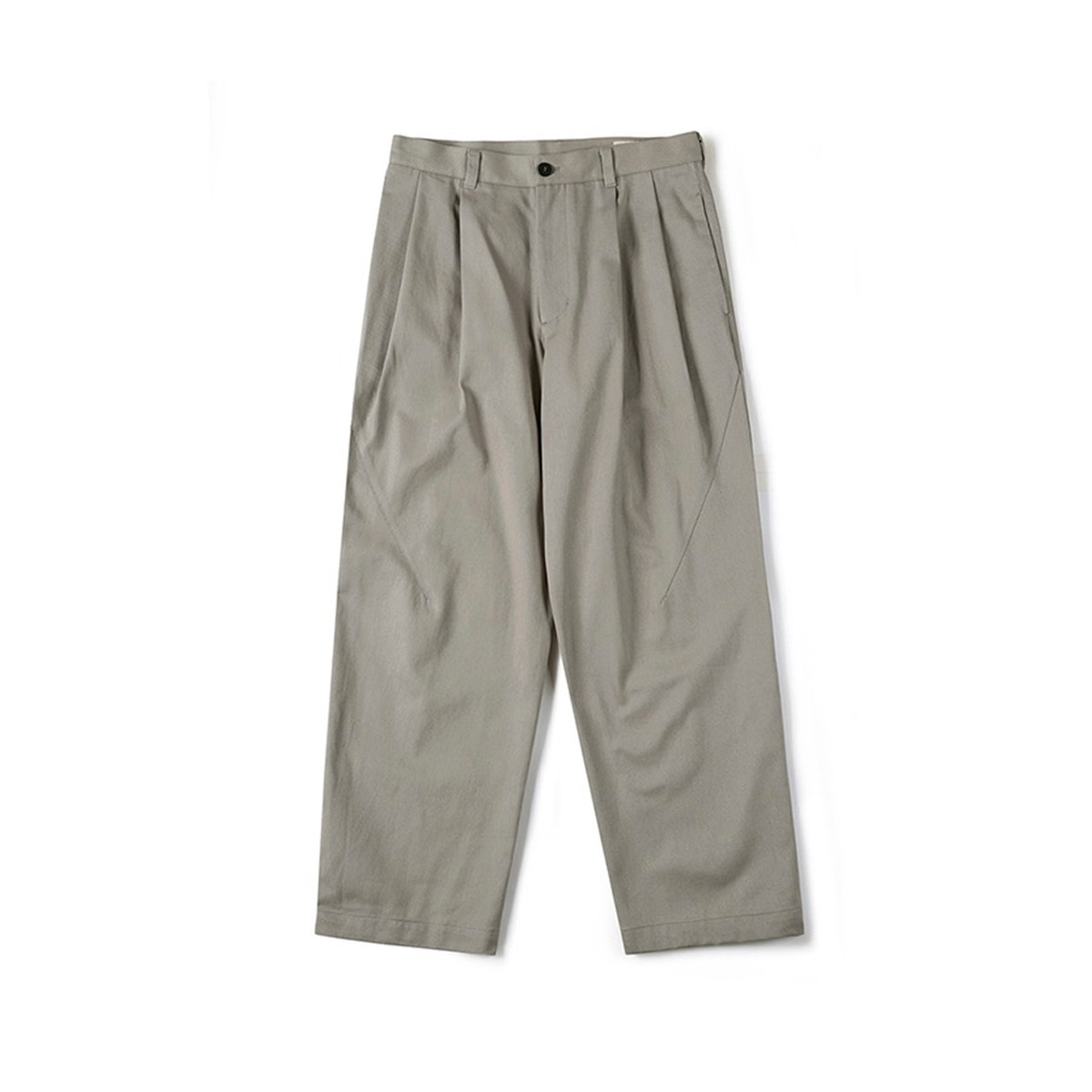 [SHIRTER] TWO TUCK JAR PANTS 'SAND BEIGE'
