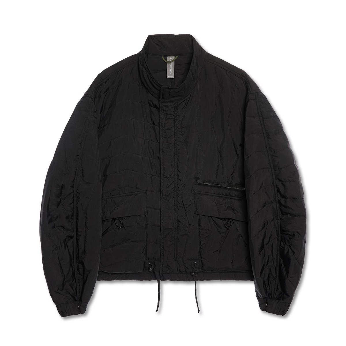 [UNAFFECTED] MULTI QUILTED BLOUSON 'BLACK'