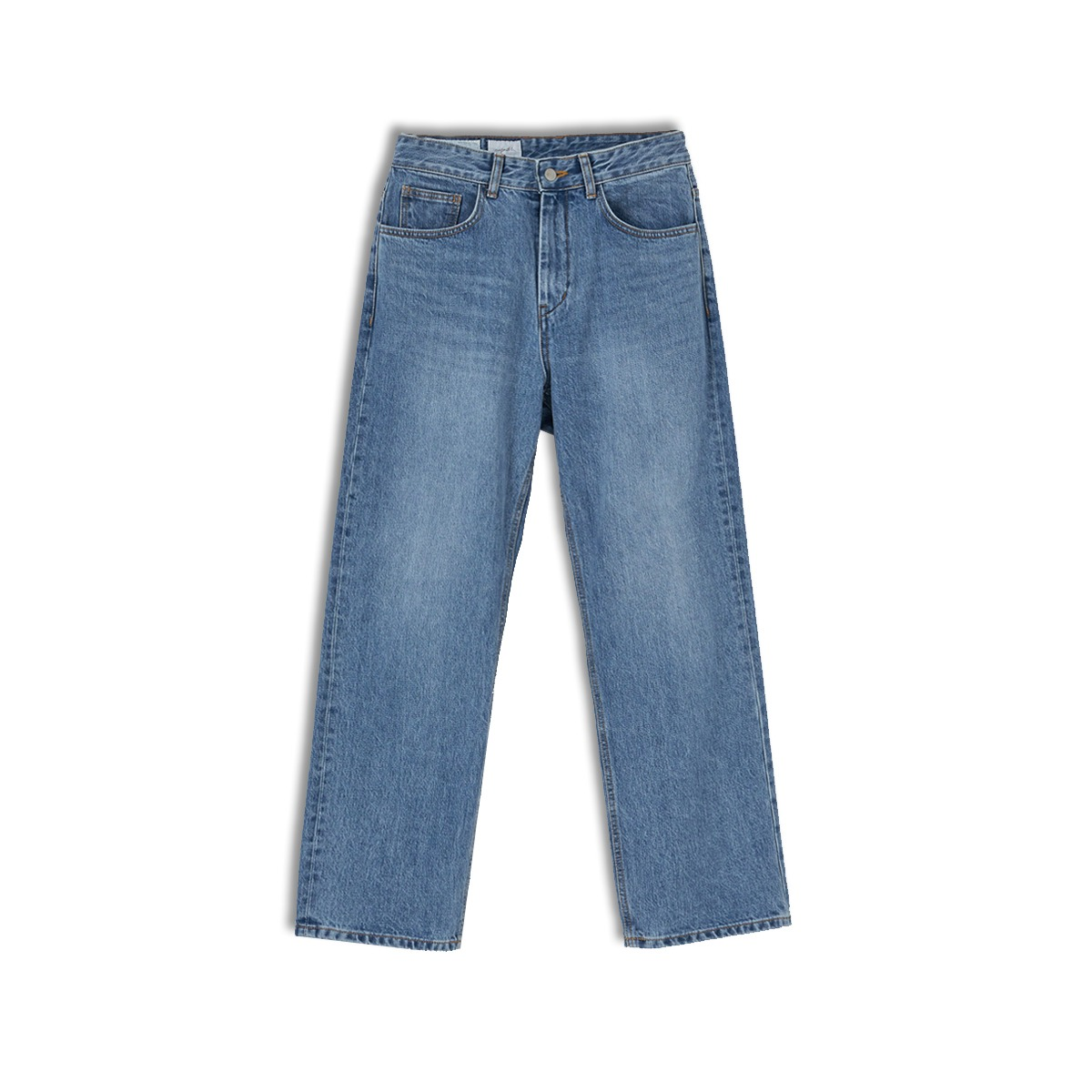 [YOUTH] STRAIGHT DENIM PANTS 'MEDIUM BLUE'