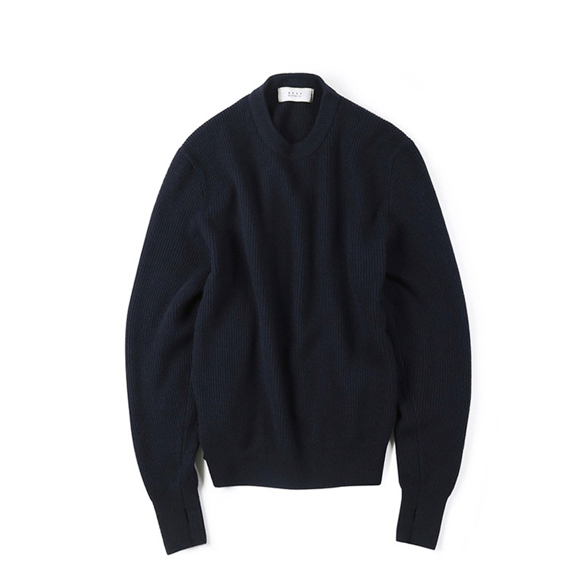 [SHIRTER] WANDERER CREW NECK KNIT 'DARK NAVY'