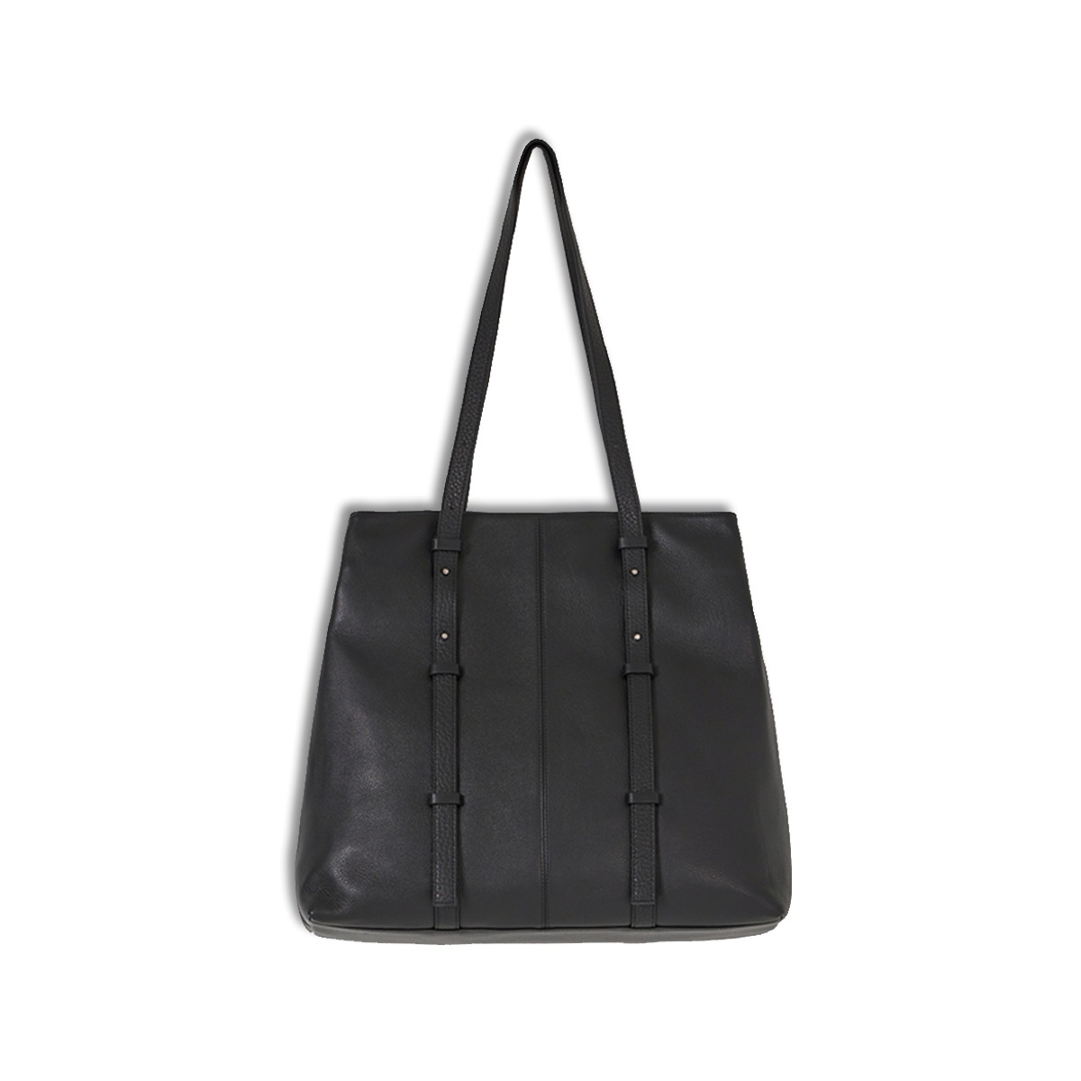 [YOUTH] LEATHER TOTE BAG 'BLACK'