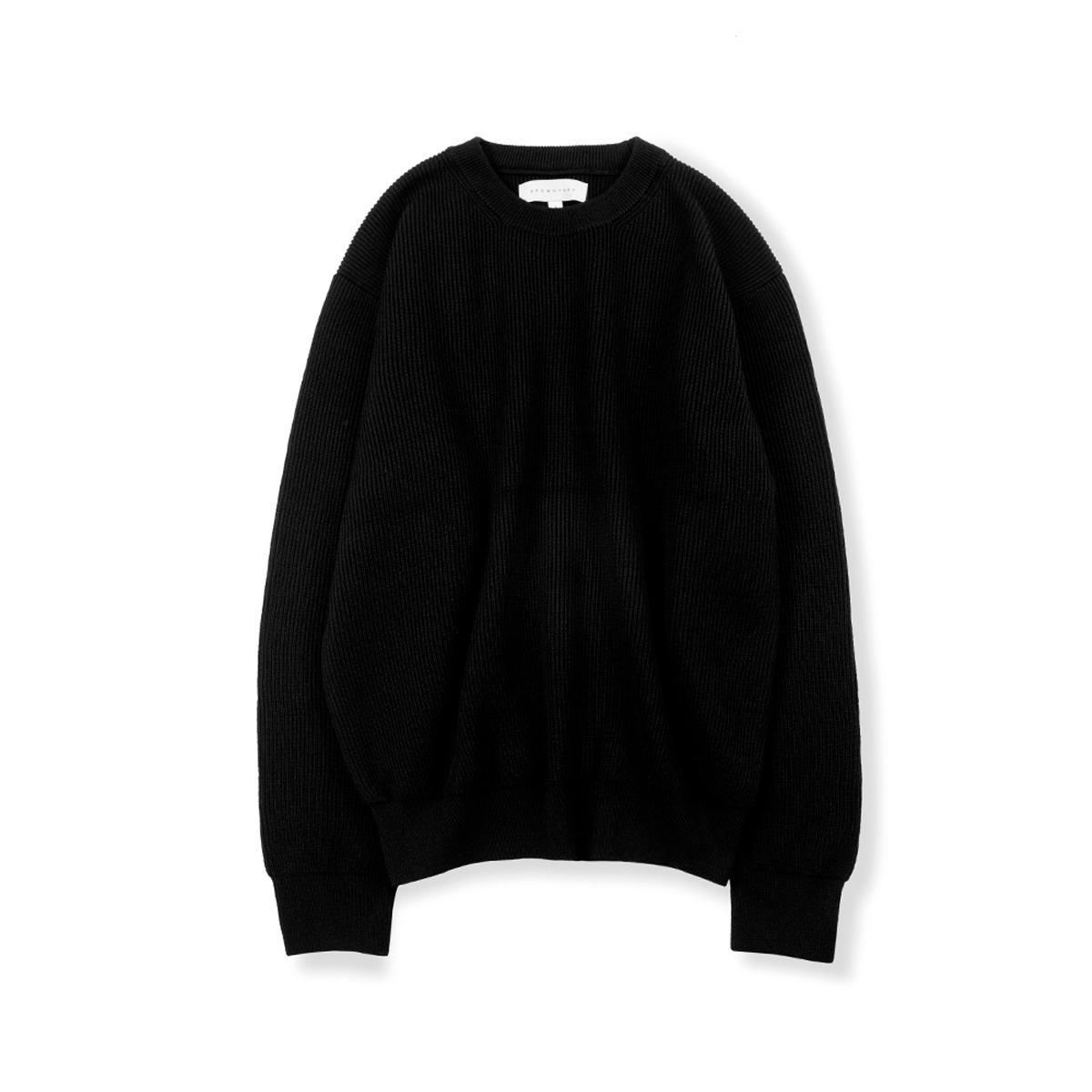 [BROWNYARD] ESSENTIAL SWEATER 'BLACK'