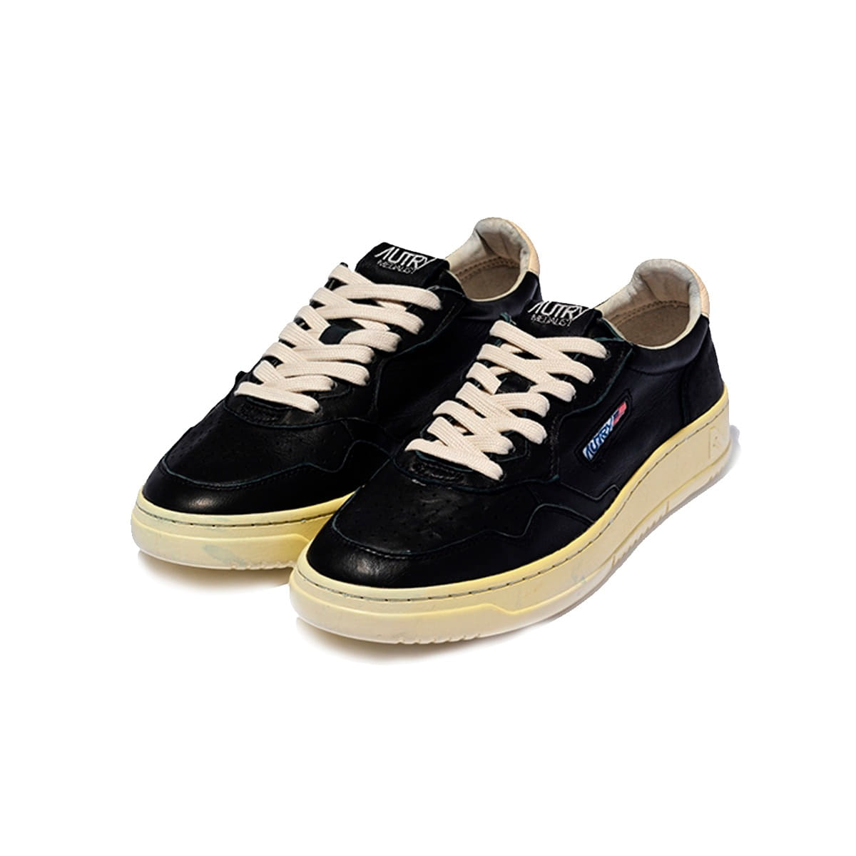 [AUTRY] MEDALIST SNEAKERS GOAT/GOAT 'BLACK'