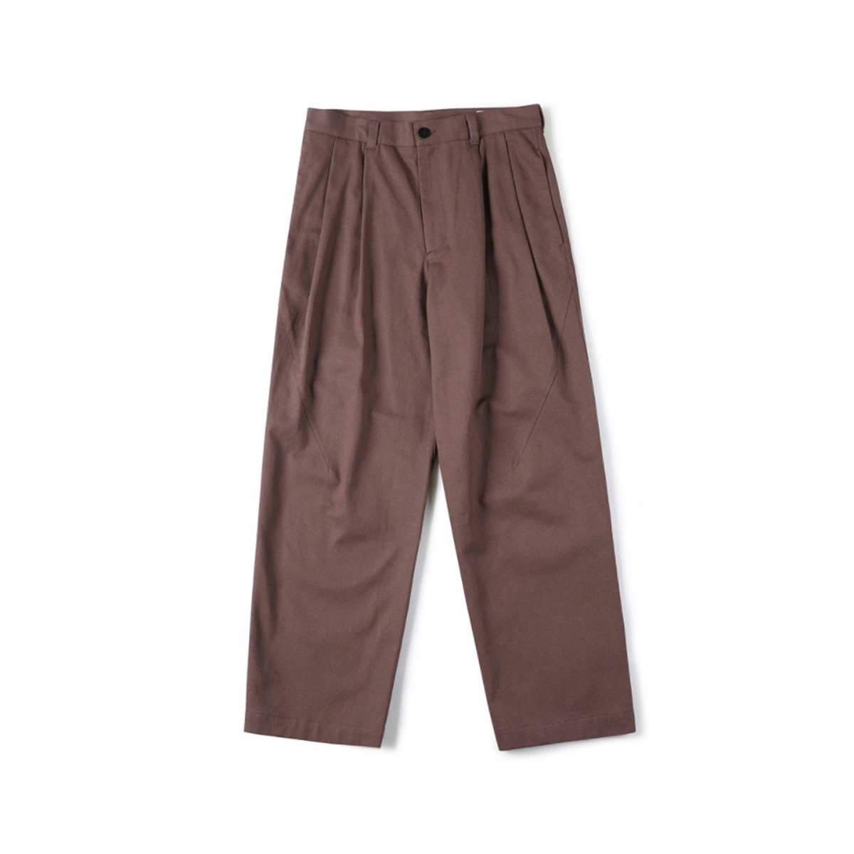 [SHIRTER] TWO TUCK JAR PANTS 'MARSALA'