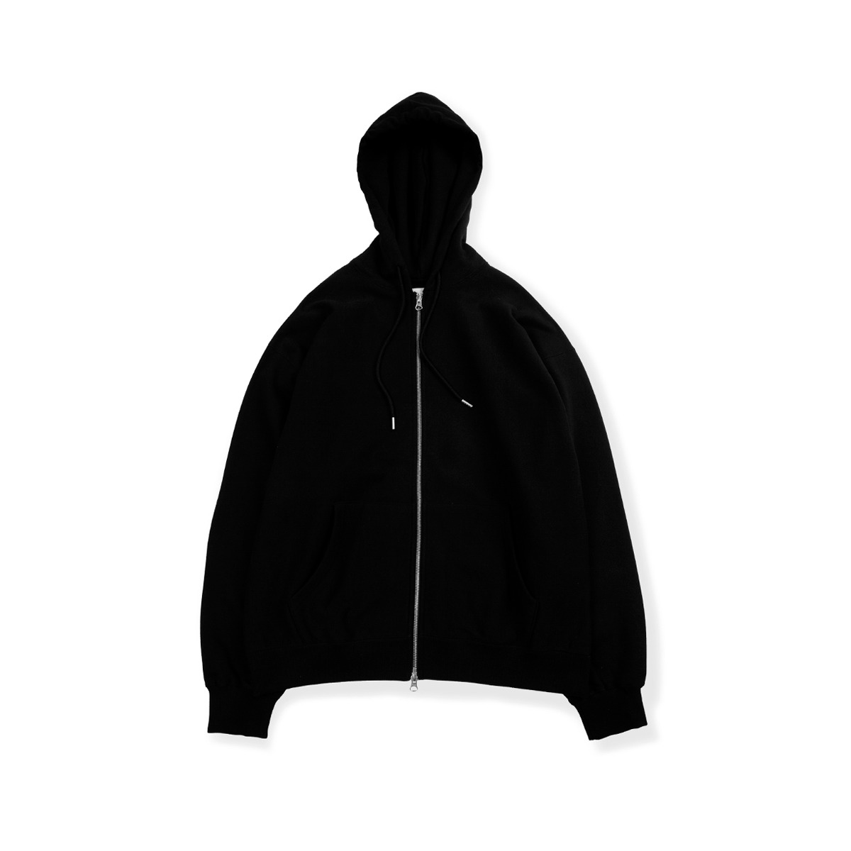 [BROWNYARD] HOOD ZIP UP 'BLACK'