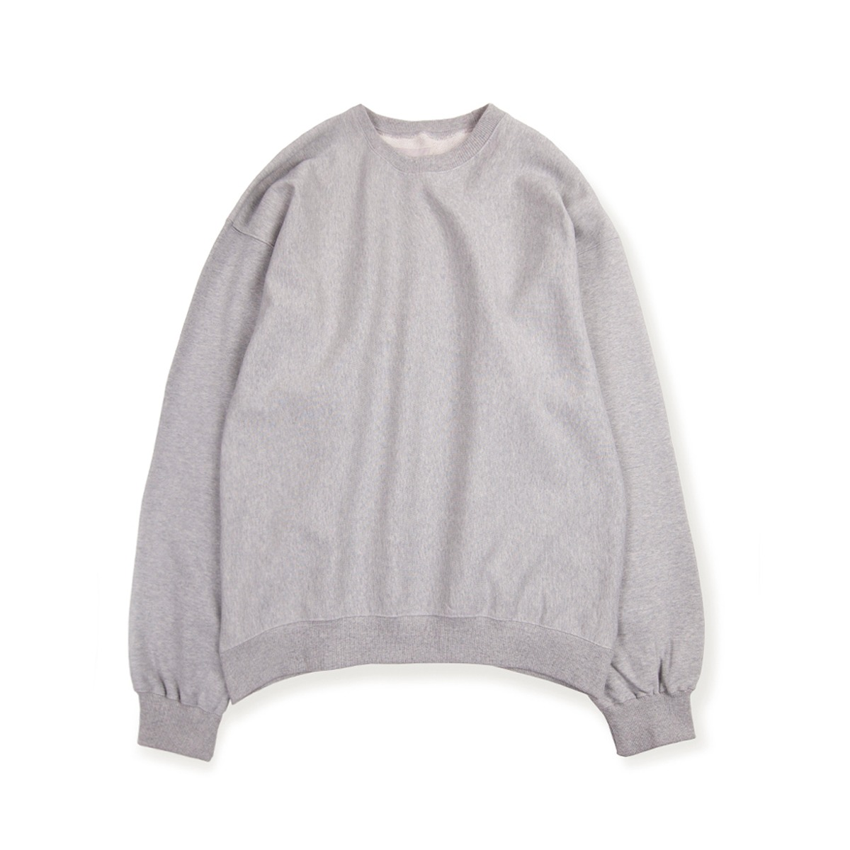 [BROWNYARD] SWEAT SHIRT 'GREY'
