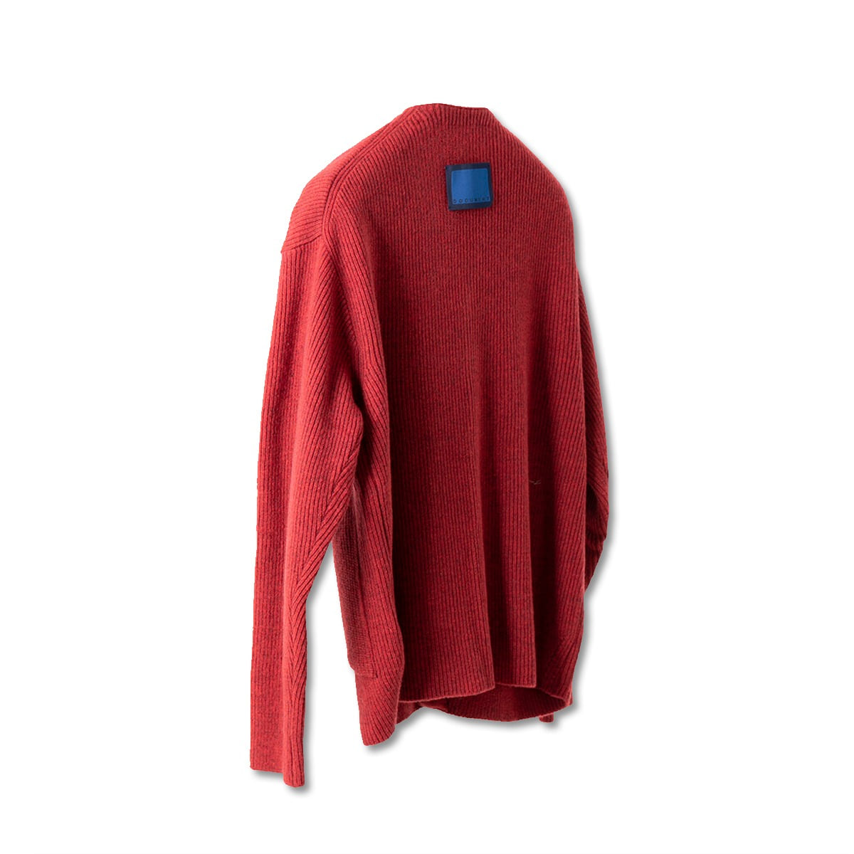 [DOCUMENT] WOOL BLEND V-CARDIGAN 'RED'