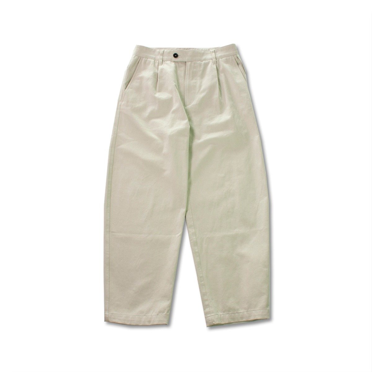 [ART IF ACTS] ONE TUCK CURVE PANT 'DOVE'