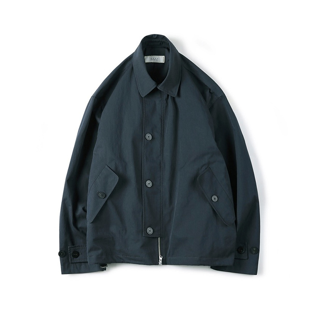 [SHIRTER] HIGH DENSITY TWILL GABARDINE JACKET 'BLUE GREEN'