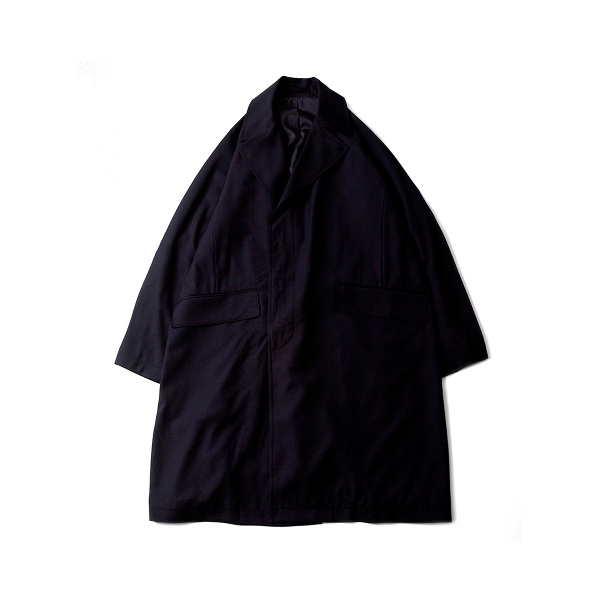 [BROWNYARD] ROBE COAT 'NAVY'
