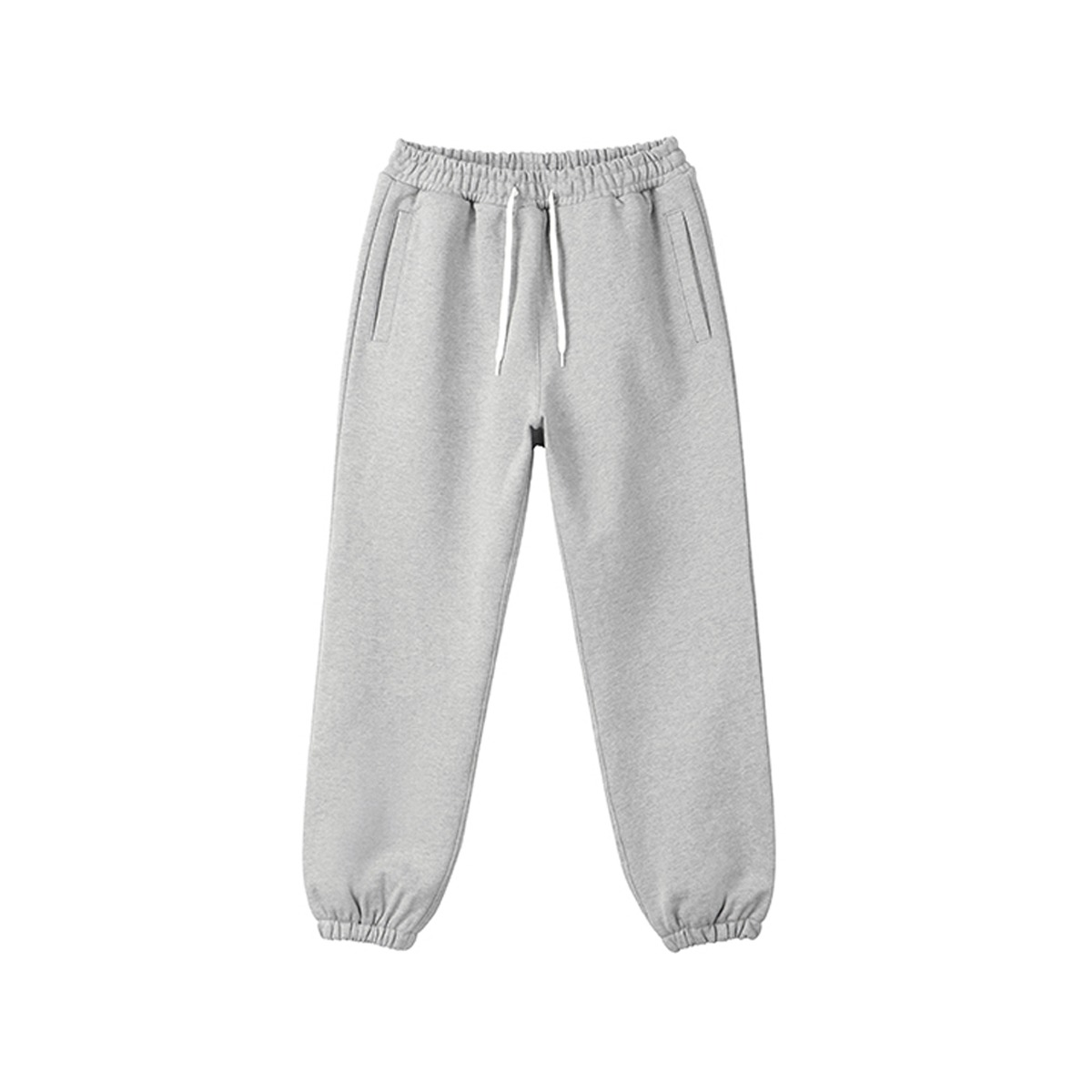 [ART IF ACTS] HEAVY SWEAT PANTS 'MELANGE GREY'
