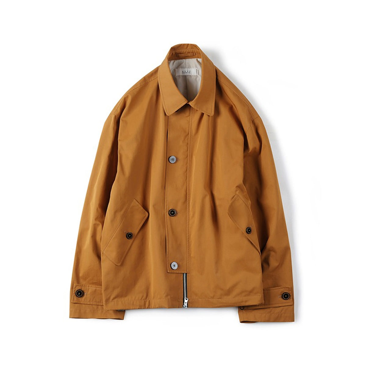 [SHIRTER] HIGH DENSITY TWILL GABARDINE JACKET 'MUSTARD'