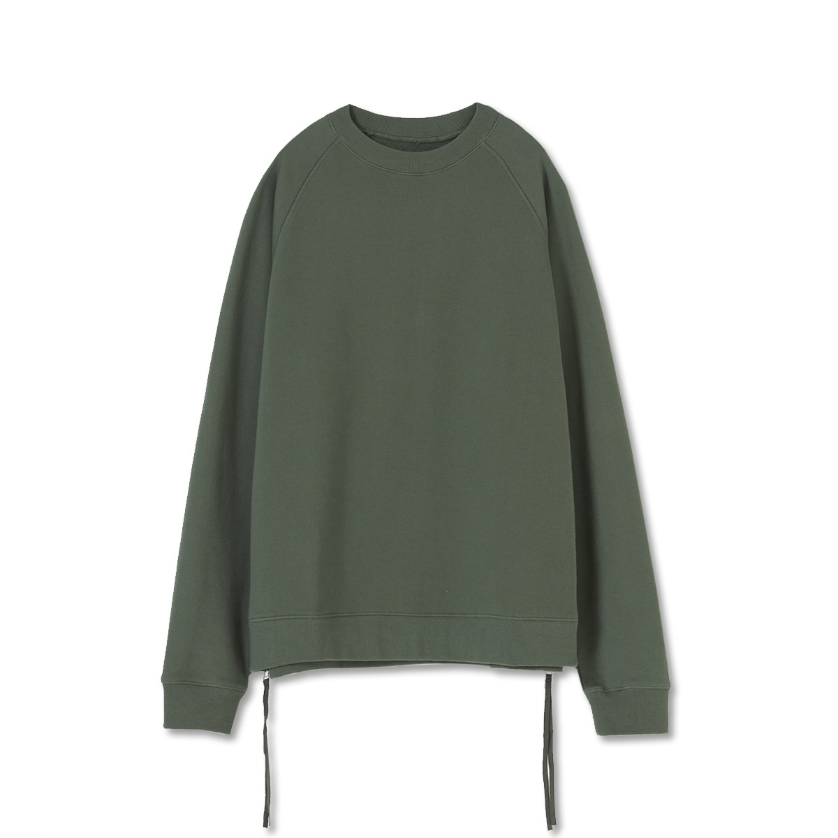[YOUTH] SIDE ZIP-UP SWEATSHIRT 'GREEN'