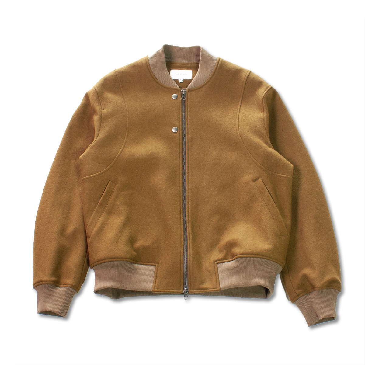 [ART IF ACTS] VARSITY JACKET 'OCHRE'