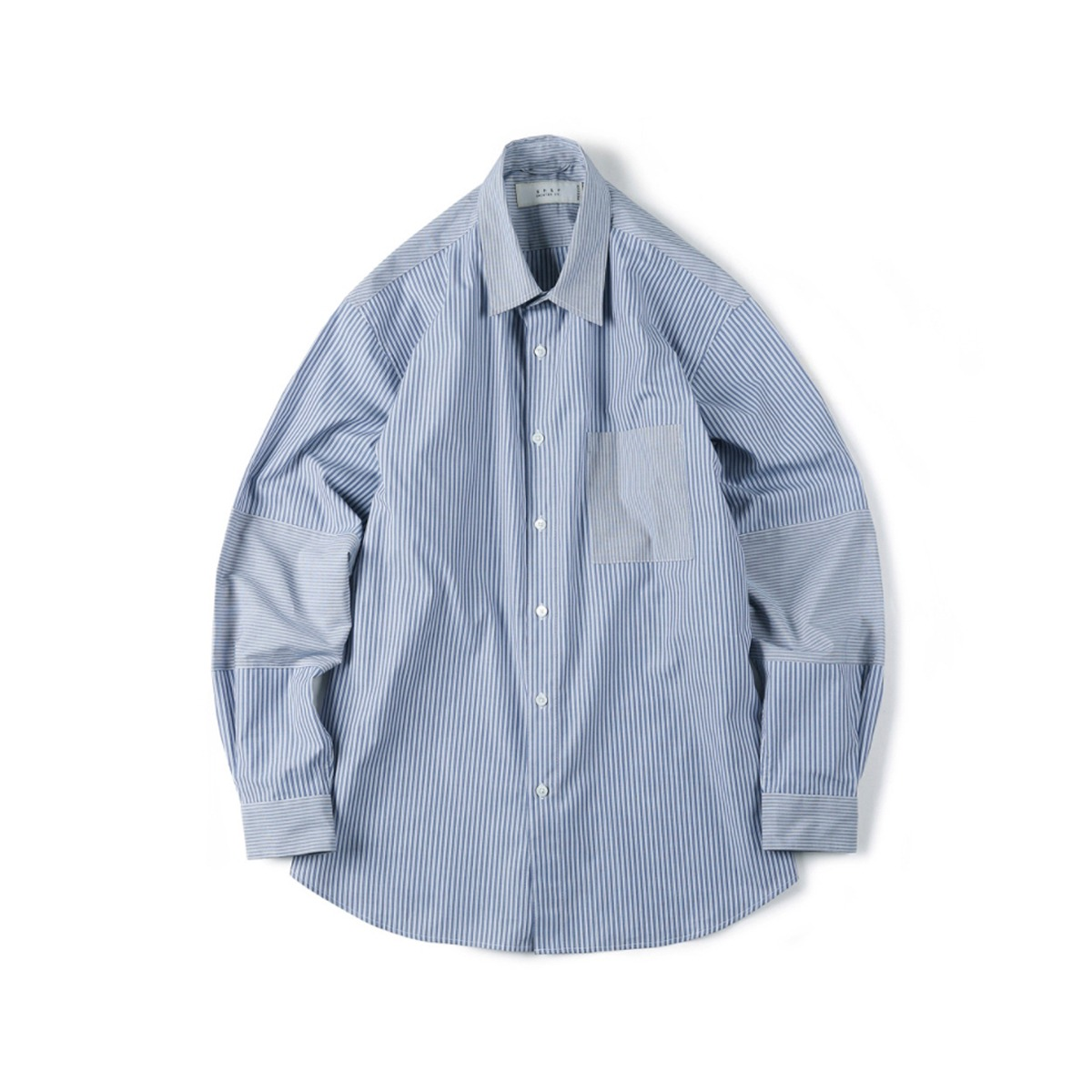 [SHIRTER] MIXED STRIPE SHIRT 'BLUE'