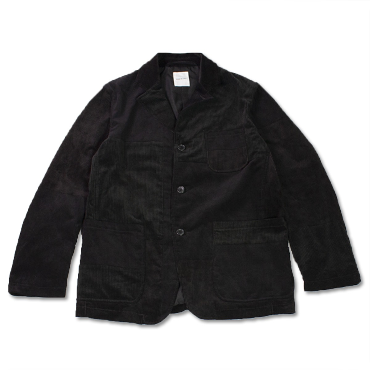 [SAGE DE CRET] PATCHWORK JACKET 'BLACK'