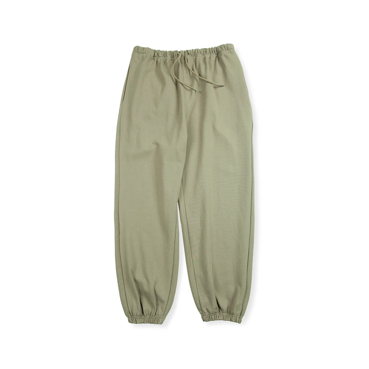 [BROWNYARD] HARD TWIST SWEAT PANTS 'LIGHT OLIVE'