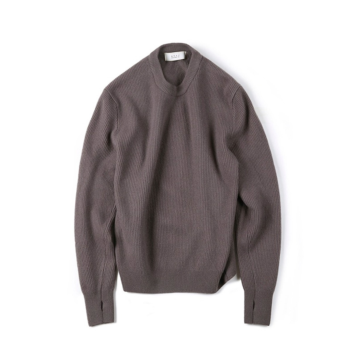 [SHIRTER] WANDERER CREW NECK KNIT 'PURPLE'