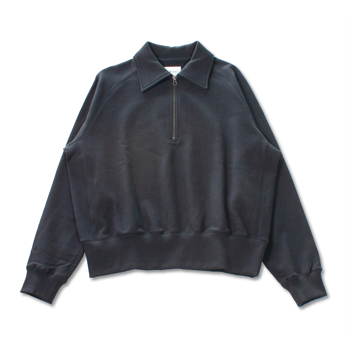 [ART IF ACTS] HALF ZIPUP SWEAT SHIRT 'DARK NAVY'