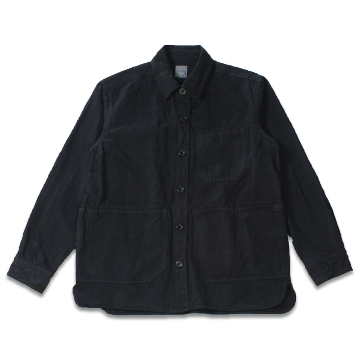 [SAGE DE CRET] SHIRT JACKET 'BLACK'