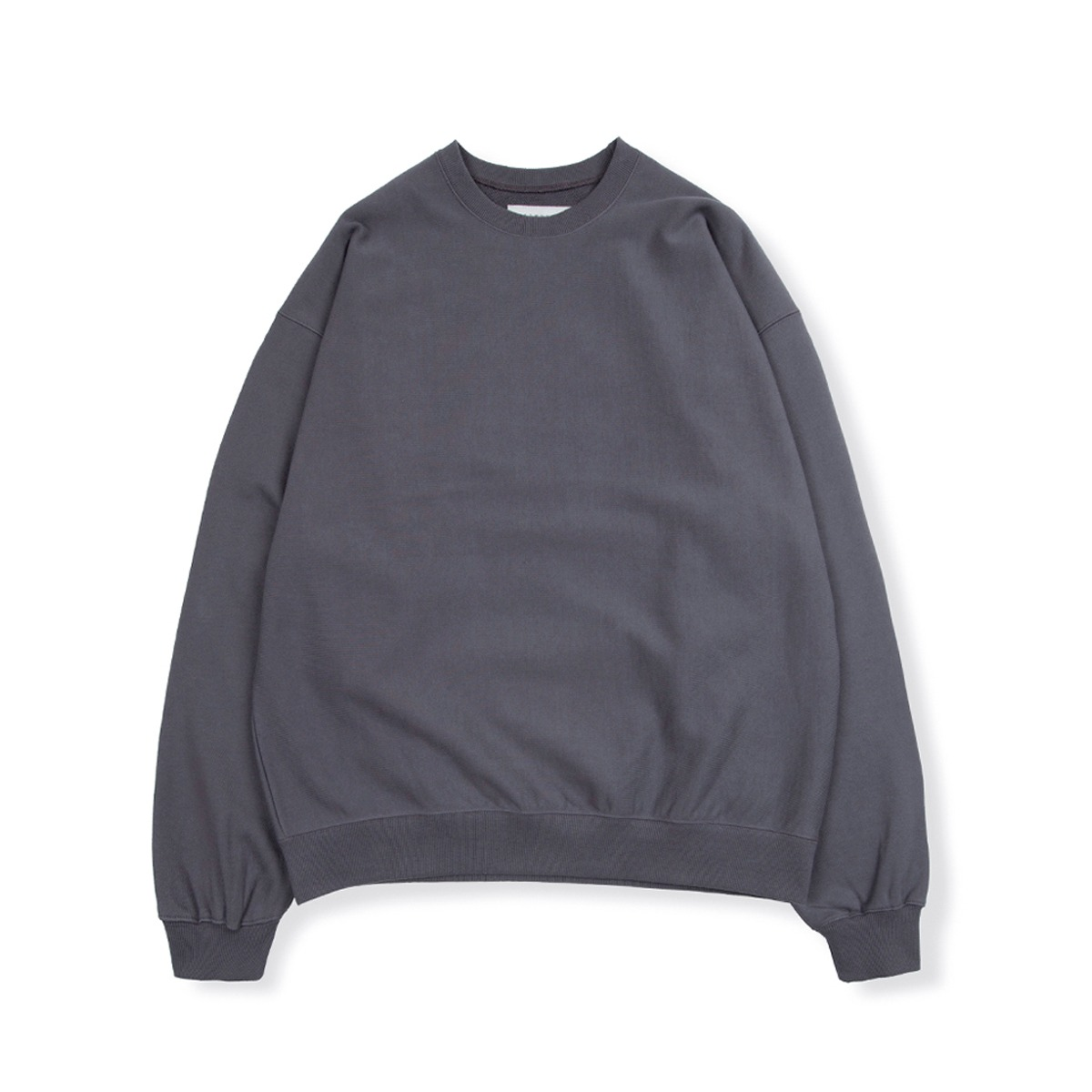 [BROWNYARD] HARD TWIST SWEAT SHIRT 'CHACOL'