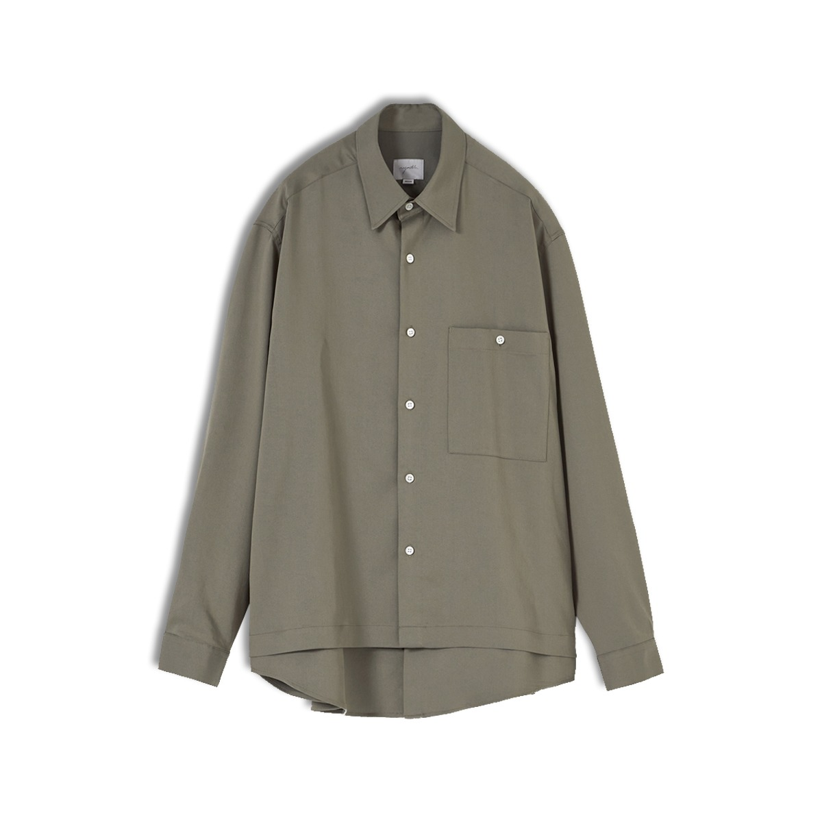 [YOUTH] LAYERED SHIRT 'LIGHT KHAKI'