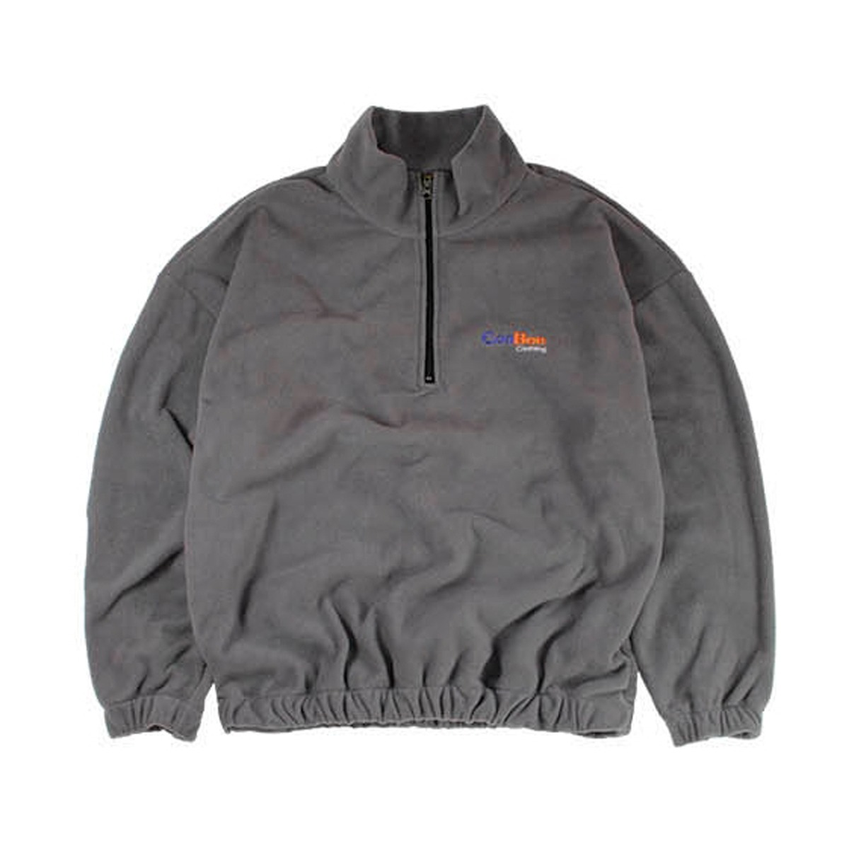 [CONICHIWA BONJOUR] EXPRESS FLEECE ZIP 'GREY'