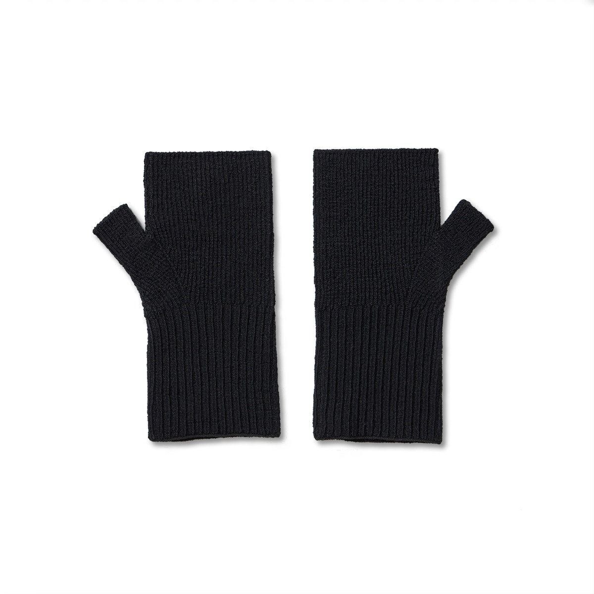 [YOUTH] FINGERLESS GLOVES 'BLACK'