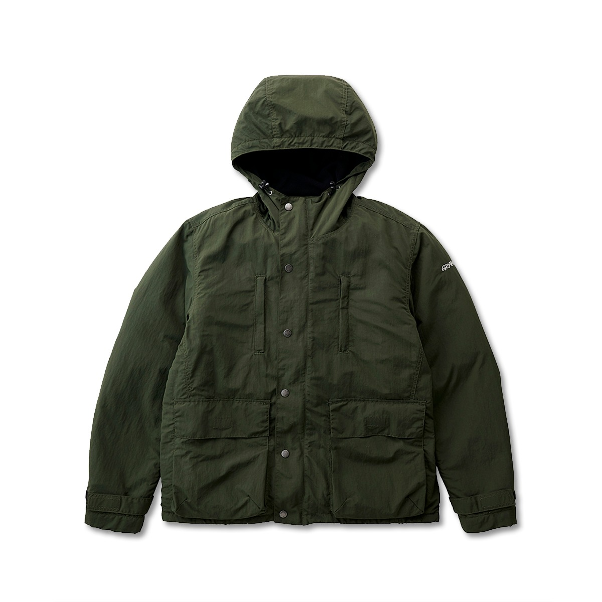 [GRAMICCI] SHELL MOUNTAIN PARKA 'DEEP OLIVE'