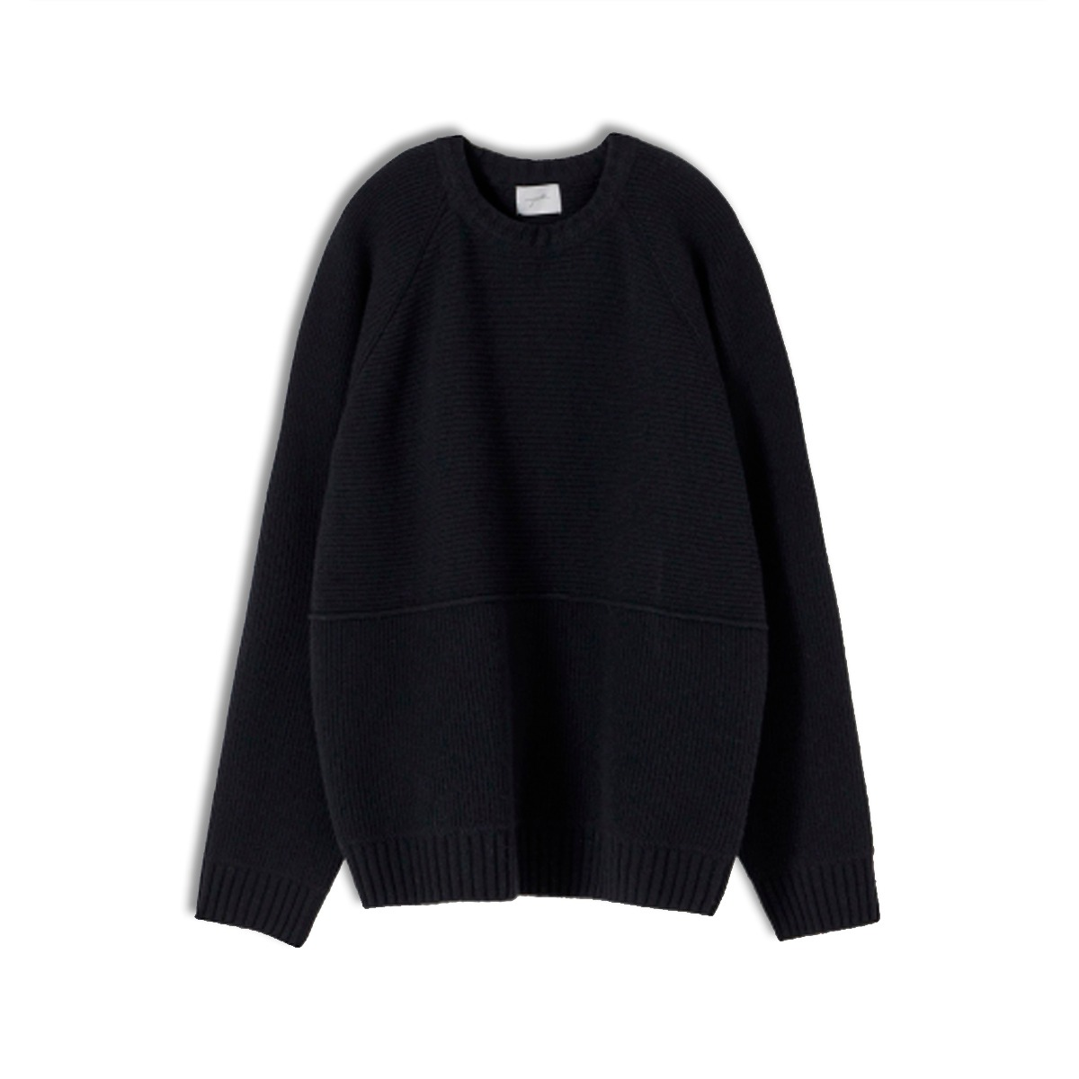 [YOUTH] STRUCTURED SWEATER 'BLACK'