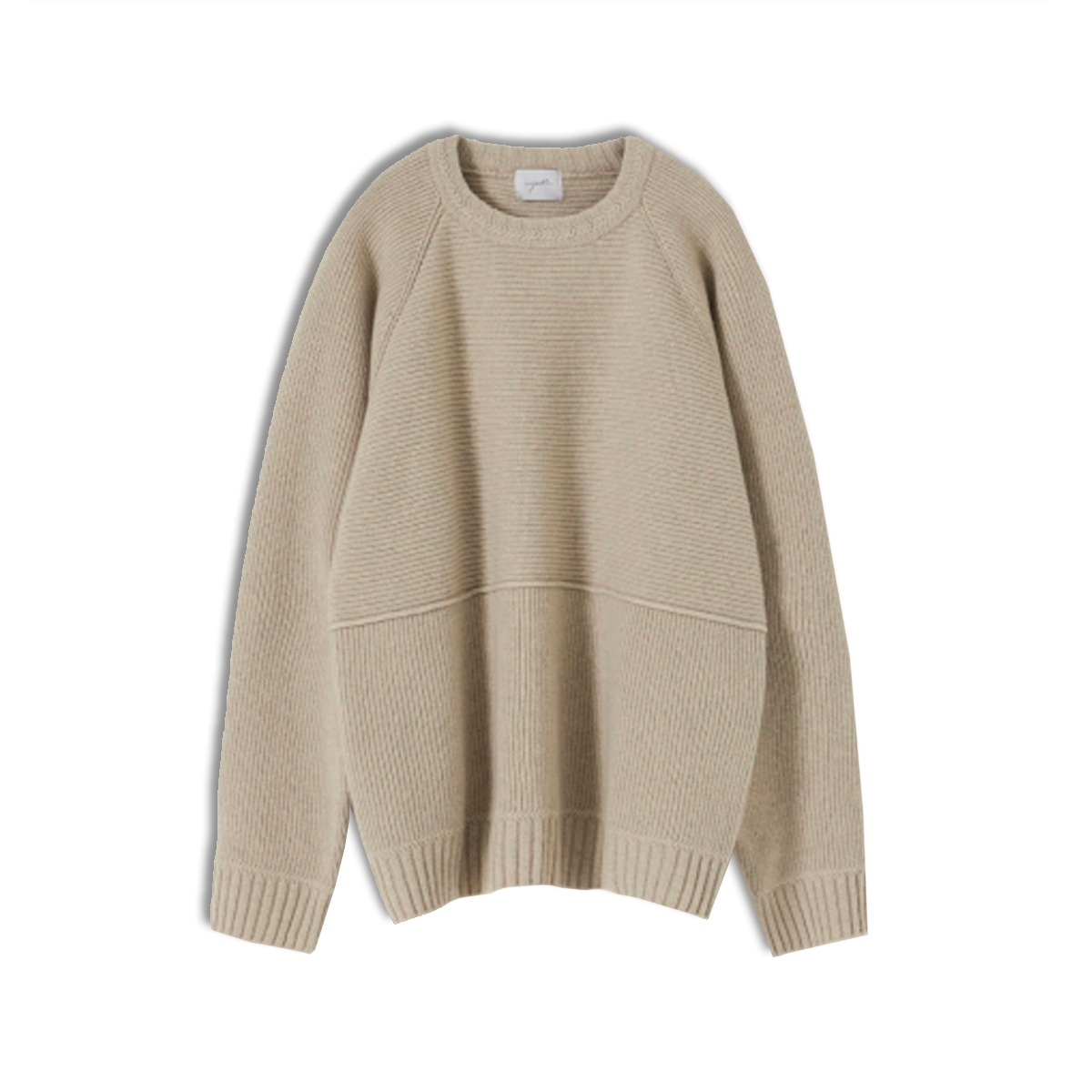 [YOUTH] STRUCTURED SWEATER 'BEIGE'