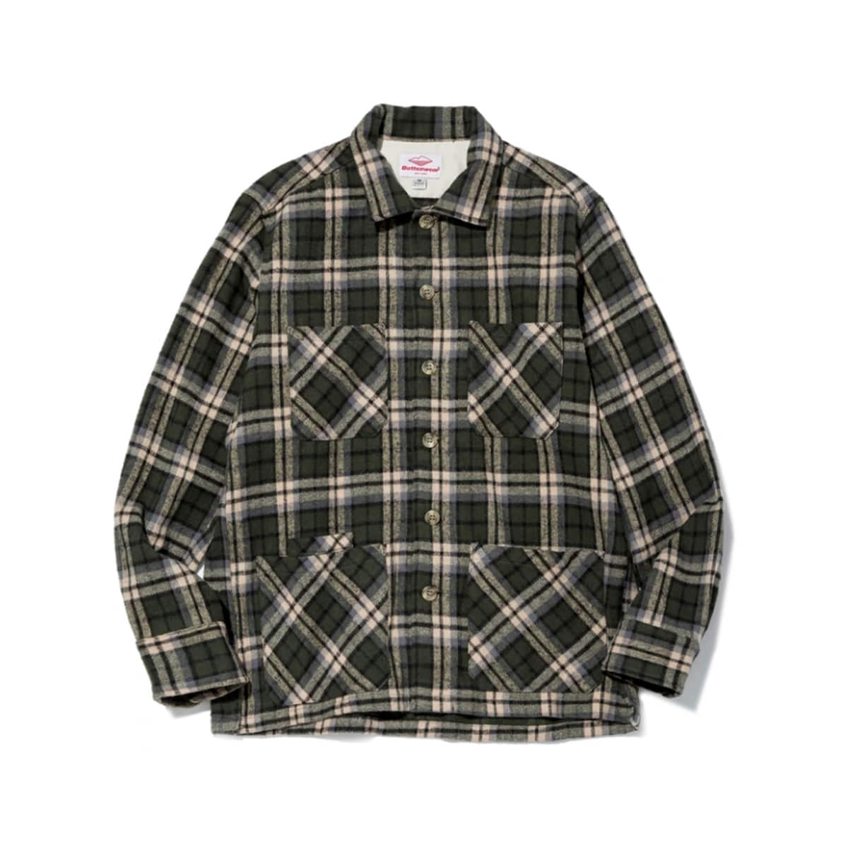 [BATTENWEAR] FIVE POCKET CANYON SHIRT 'GREEN PLAID'