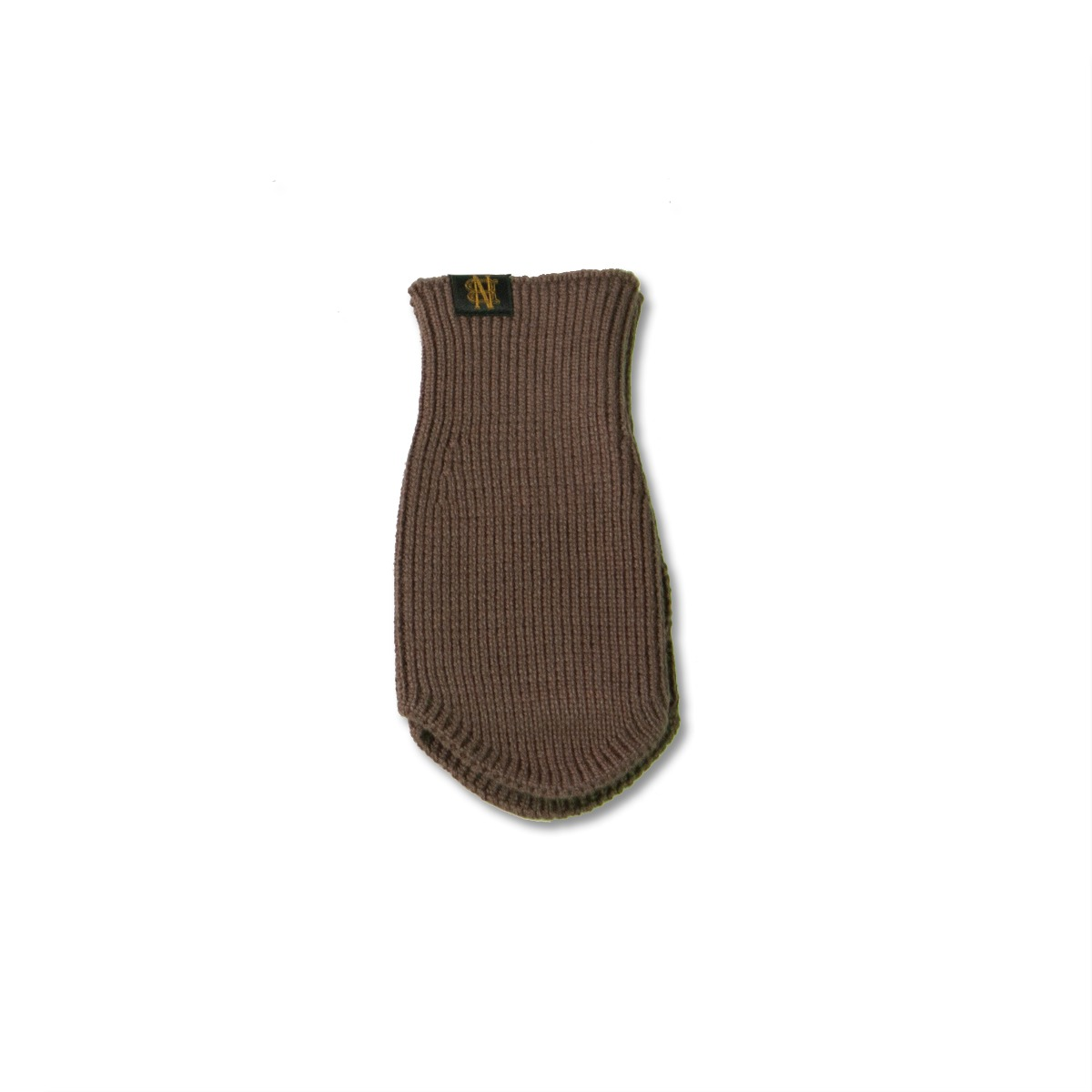 [BATONER] SIGNATURE WOOL ARM WARMER (SHORT) 'BROWN'