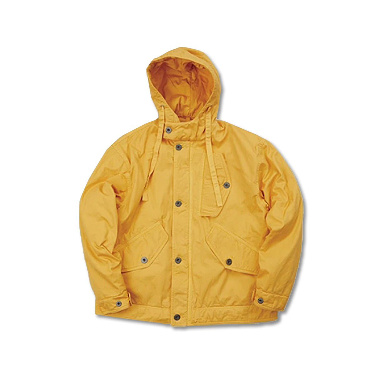 [NIGEL CABOURN] COLD WEATHER JACKET POPLIN 'YELLOW'