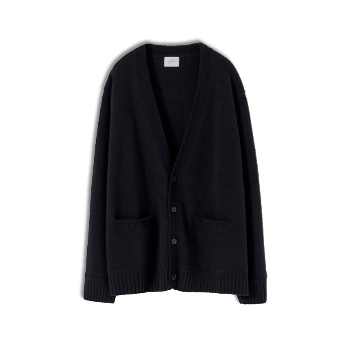 [YOUTH] OVERSIZED CARDIGAN 'BLACK'