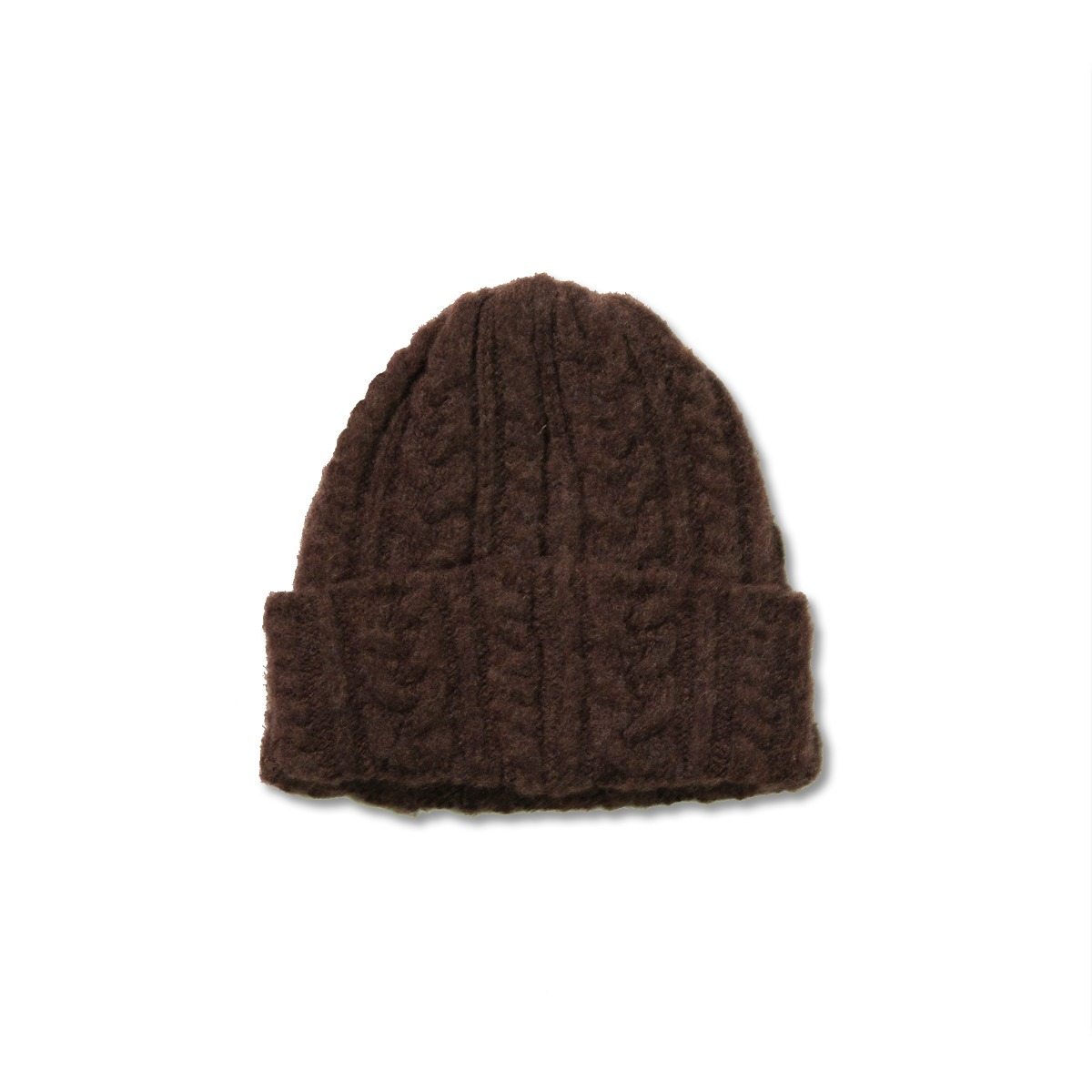 [HOWLIN] CABLE FESTIVAL HAT 'BROWN'