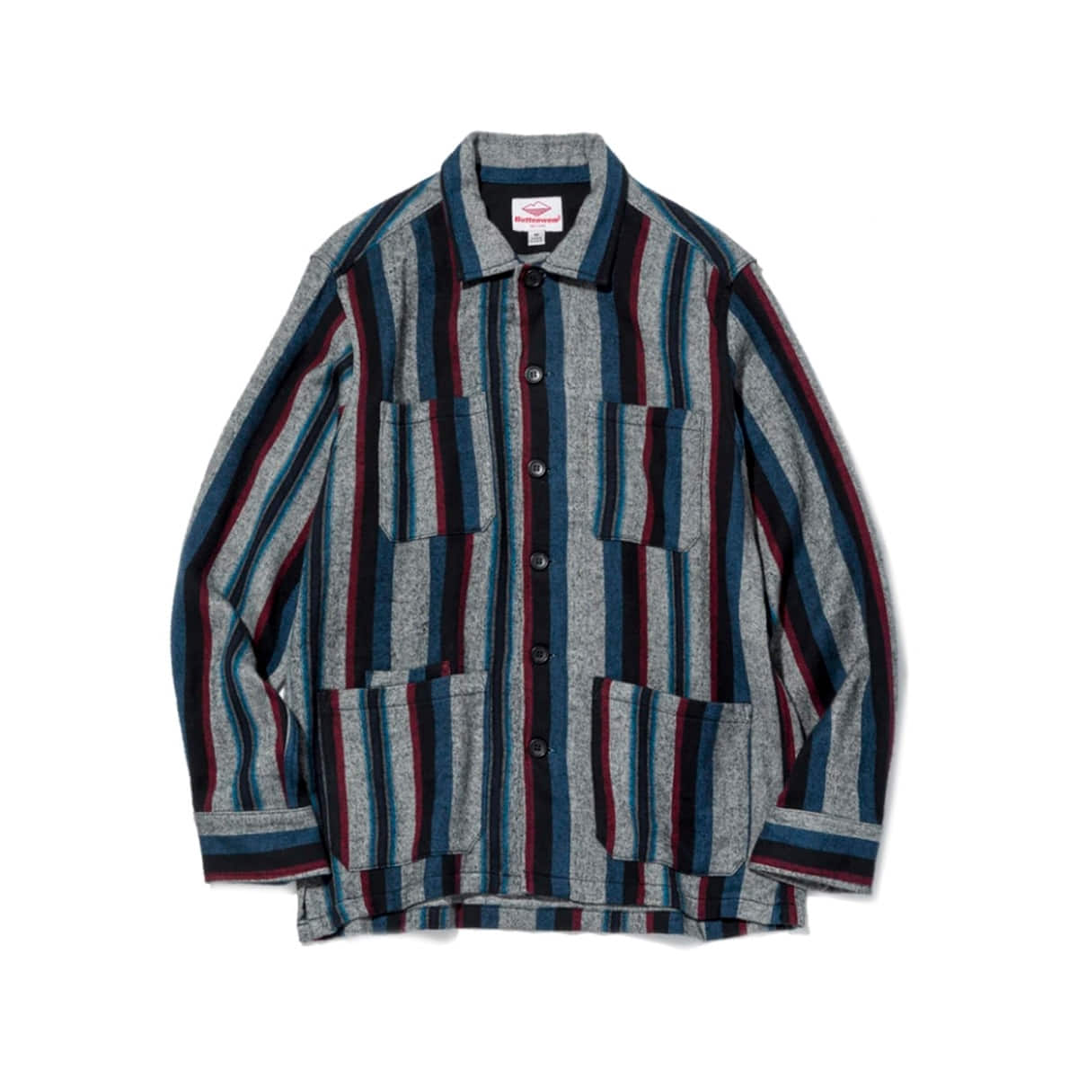 [BATTENWEAR] FIVE POCKET CANYON SHIRT 'VERTICAL STRIPE'