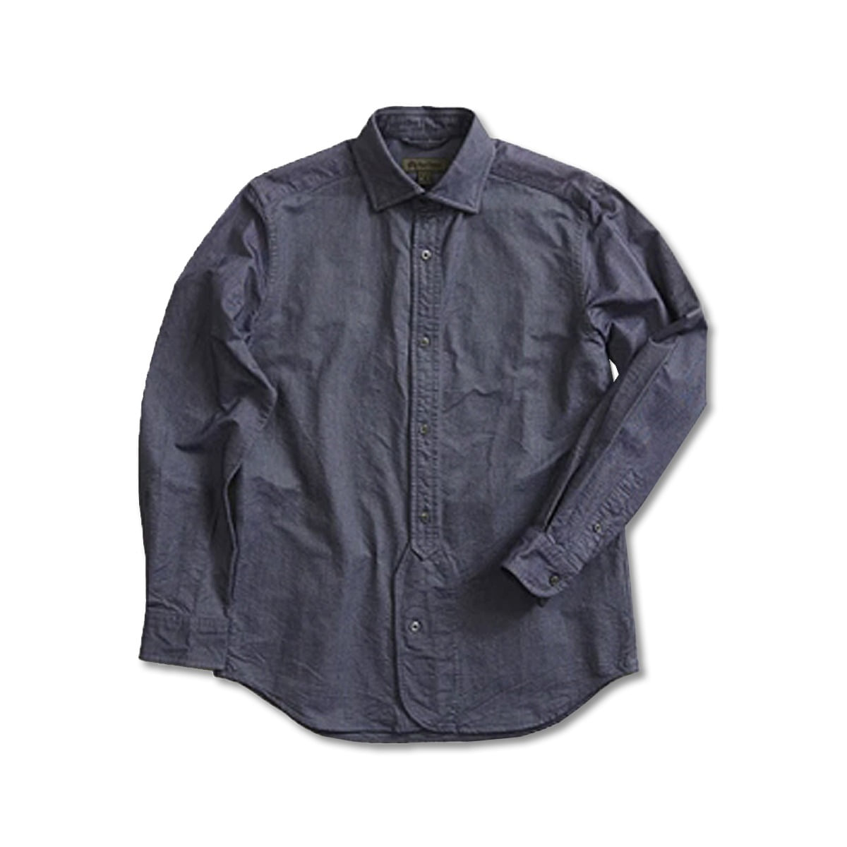 [NIGEL CABOURN] BRITISH OFFICERS SHIRT 'NAVY'