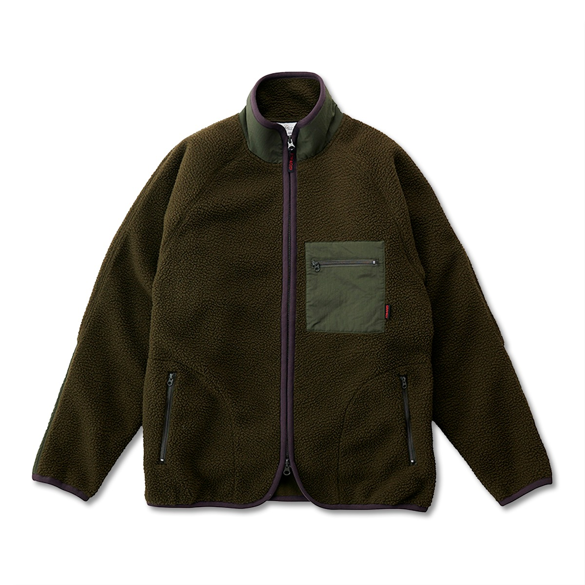 [GRAMICCI] BOA FLEECE JACKET 'OLIVE'